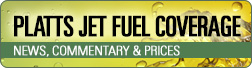Platts jet fuel prices and news