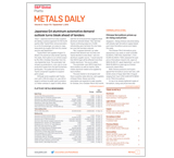 Metals Daily