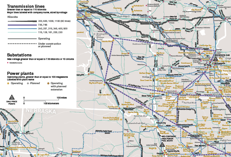 North American Electric Transmission System Map Americas Maps And - Us electric grid map