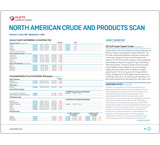 North American Crude and Products Scan