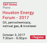S&P Global Platts Houston Energy Forum – 2017