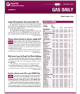 Featured Product: Gas Daily