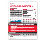 Platts Mexico Energy Monthly