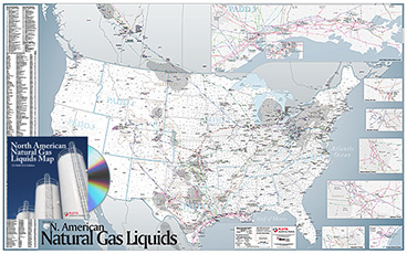North American NGLs Map