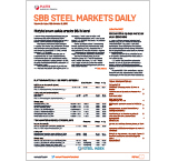 Steel Markets Daily