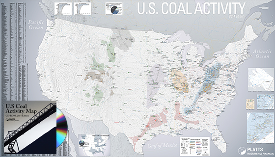 U.S. Coal Activity Map
